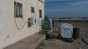 Homebiogas machine in Jordan (Photo: T.H. Culhane)