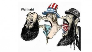 Anti-Semitic cartoon. The enemies of Israel have replaced the word Jew in their repertoire with the term 'Zionist' and exploited political correctness to advance their destructive ends (archive)