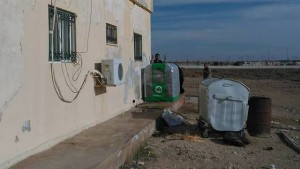 Homebiogas machine in Jordan (Photo: T.H. Culhane)